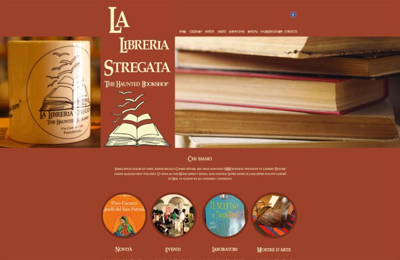 produzione sito web libreria